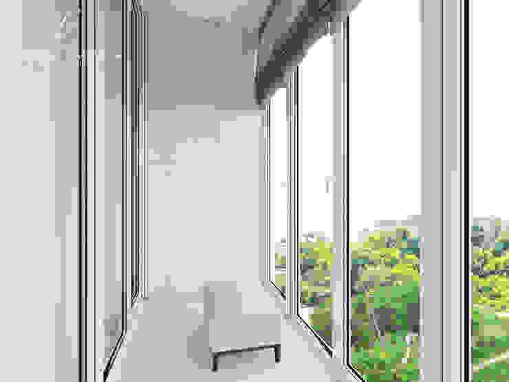 Cửa sổ & cửa ra vào phong cách kinh điển bởi Design studio TZinterior group Kinh điển