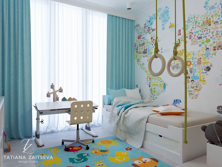 Classic style nursery/kids room by Design studio TZinterior group Classic