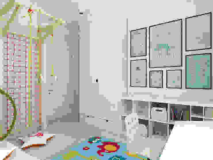 Phòng trẻ em phong cách kinh điển bởi Design studio TZinterior group Kinh điển