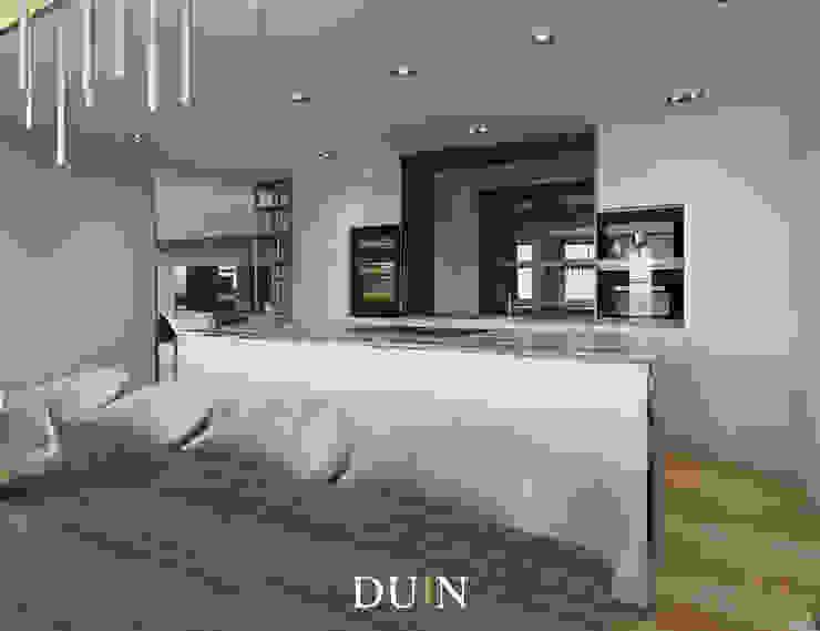 Merckt, Grote Markt Groningen Moderne keukens van DUIN INTERIOR Modern Marmer