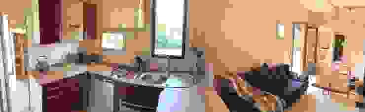 Jardin boheme Modern kitchen