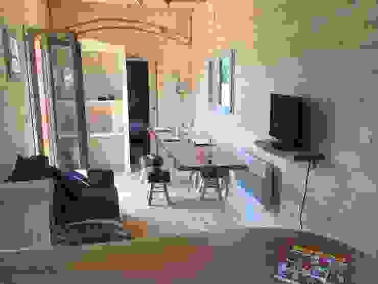 Jardin boheme Modern living room