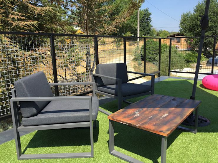 Jardin boheme Roof terrace
