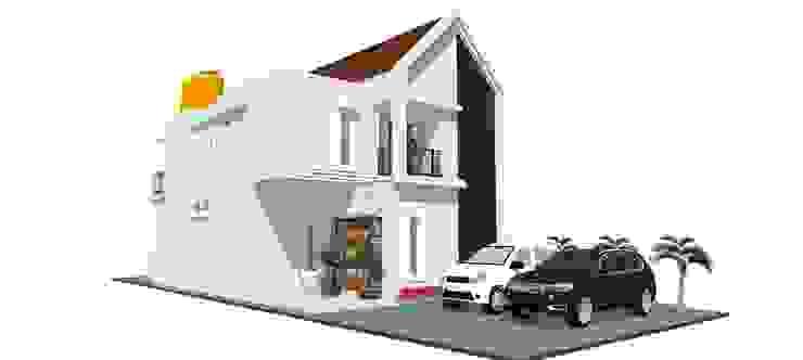 Private House Rumah Gaya Skandinavia Oleh MODE KARYA Skandinavia Beton