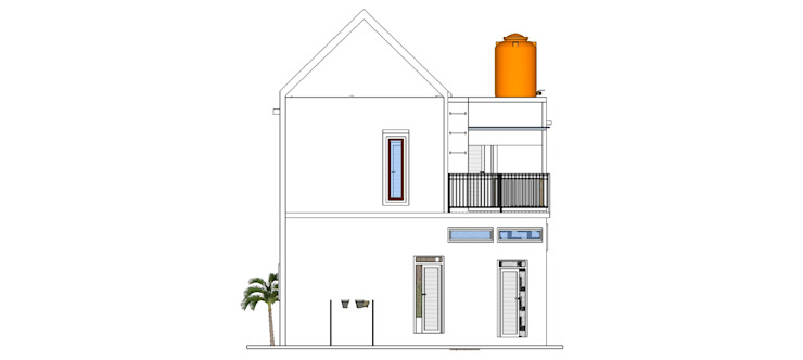 Private House Oleh MODE KARYA Skandinavia Beton