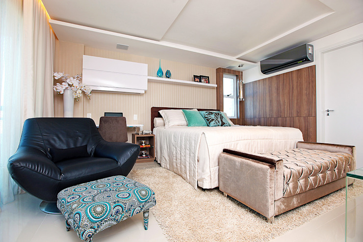 Moderne Schlafzimmer von RI Arquitetura Modern