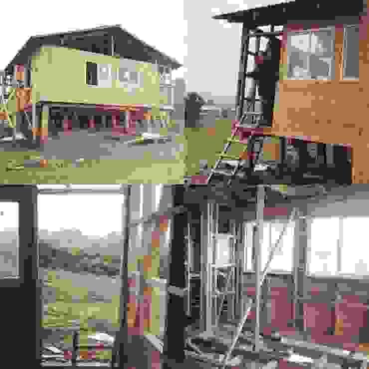 registro proceso de construcción de Ekeko arquitectura - Coquimbo Moderno