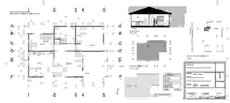 lámina de arquitectura de Ekeko arquitectura - Coquimbo Moderno