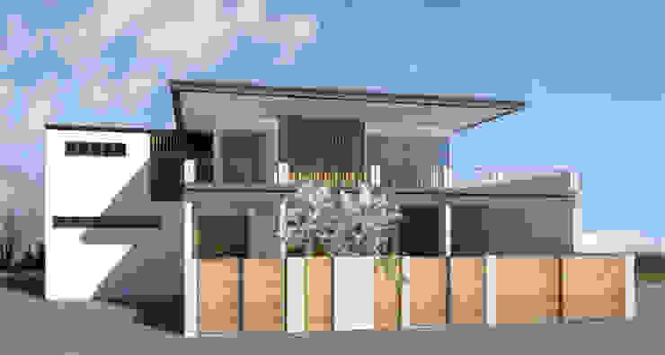 Exterior Zhardei Alyson Architect Single family home Grey