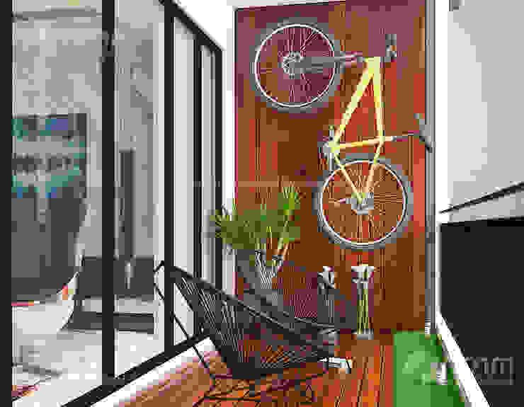 Home design of Residence 22, Mont Kiara Norm designhaus Modern style gardens