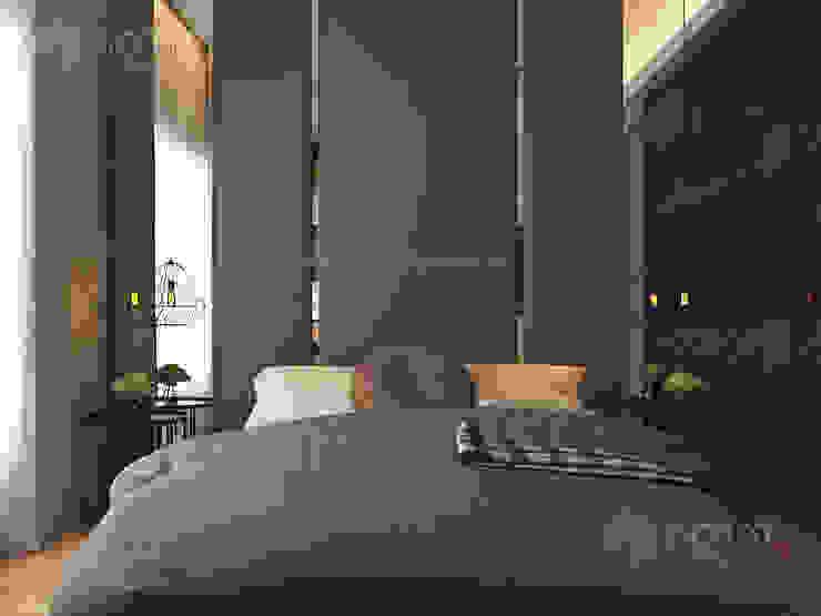 Home design of Residence 22, Mont Kiara Norm designhaus Modern style bedroom