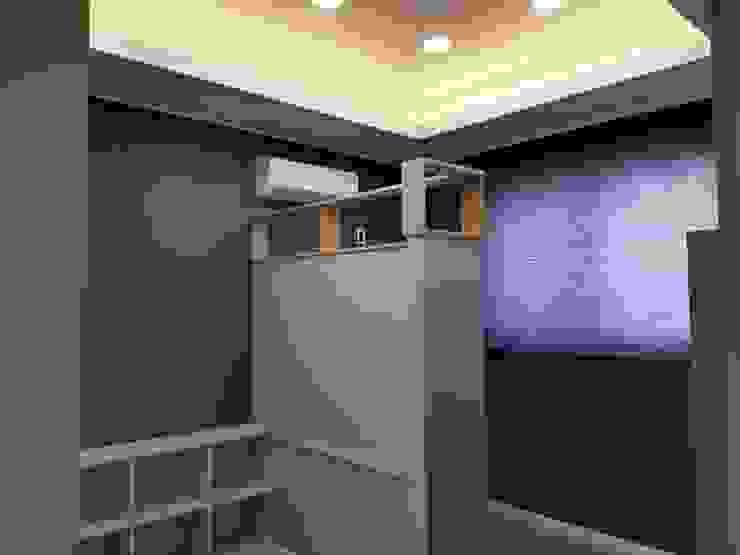 GN건축사사무소 Dormitorios infantiles de estilo moderno Aglomerado Verde