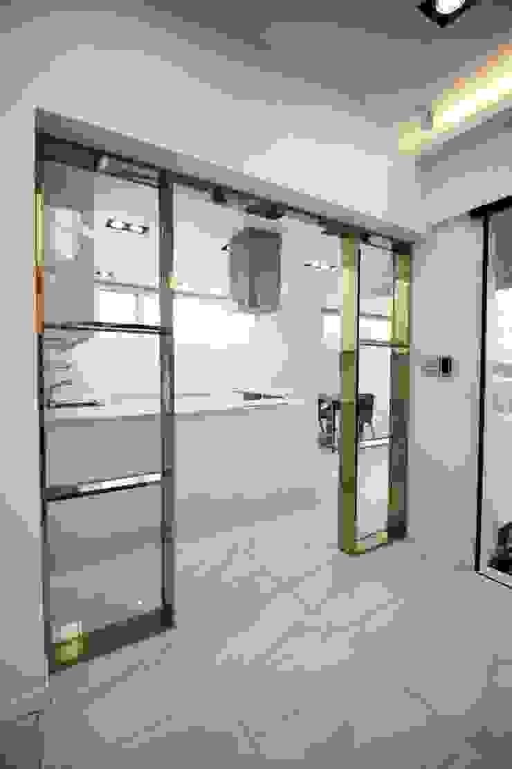 GN건축사사무소 系統廚具 磁磚 White
