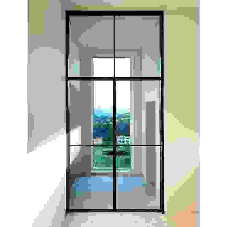WITHJIS(위드지스) pintu kaca Aluminium/Seng Black