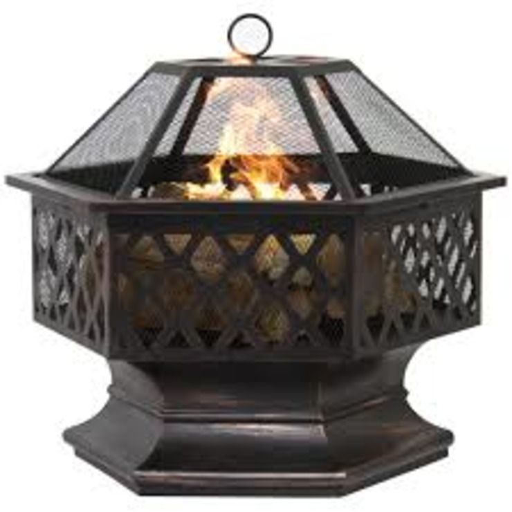 A Guide to Picking Fire Pits by Teacher & Writer Eclectic Aluminium/Zinc