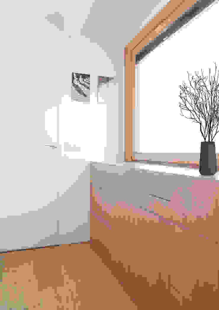 Mini apartamento en Gran de Gracia YLAB Arquitectos Estudios y despachos de estilo escandinavo