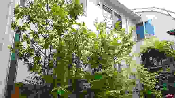 雑木の庭 お手入れ前 の 庭や煌久