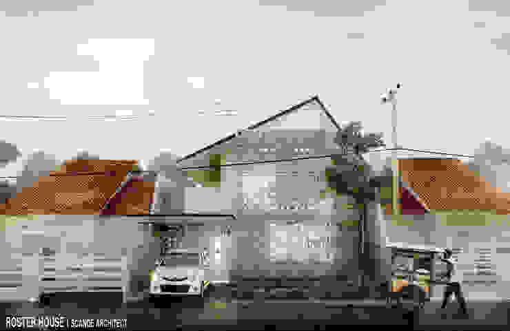 Rumah Roster Oleh Scande Architect Industrial