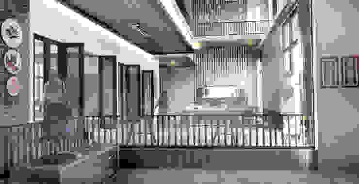 Ruang keluarga Ruang Keluarga Modern Oleh Scande Architect Modern Kayu Wood effect