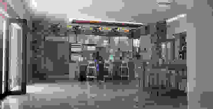 Dapur Modern Oleh Scande Architect Modern Kayu Buatan Transparent