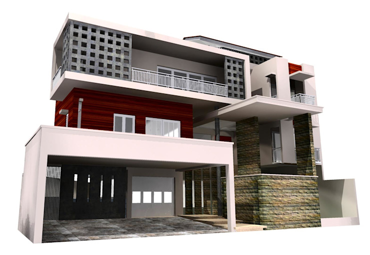 Dwelling house 3 rd Floor, Citra Garden Residential Jakarta Barat Oleh PT. DIAN CIPTA BANGUN