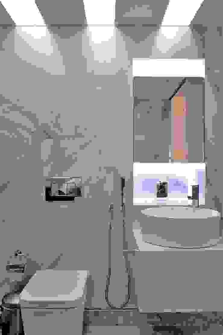 Apartamento en Chulavista Baños de estilo minimalista de RRA Arquitectura Minimalista Mármol
