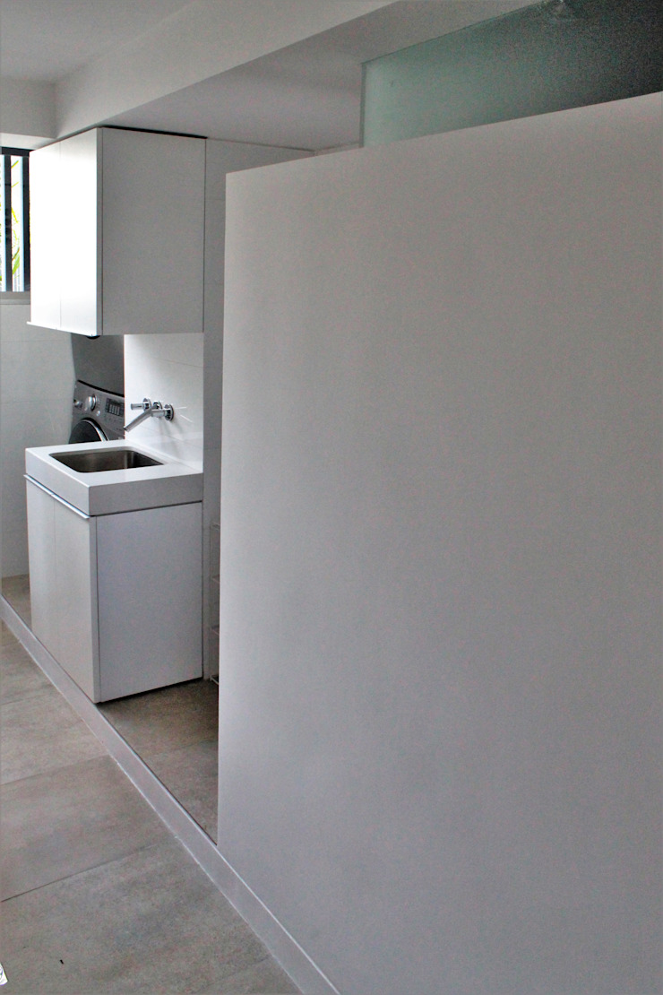 Apartamento en Chulavista Anexos de estilo minimalista de RRA Arquitectura Minimalista Cerámico