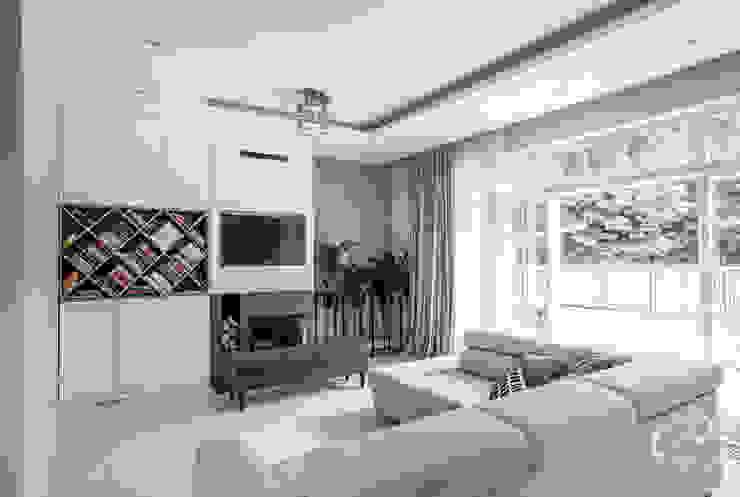 Modern living room by Progetti Architektura Modern