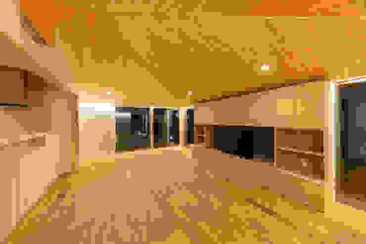 五藤久佳デザインオフィス有限会社 Modern living room