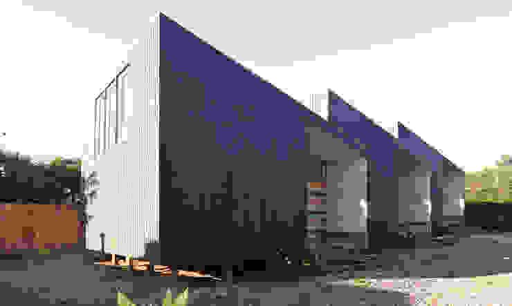Wooden houses by m2 estudio arquitectos - Santiago, Scandinavian Wood Wood effect