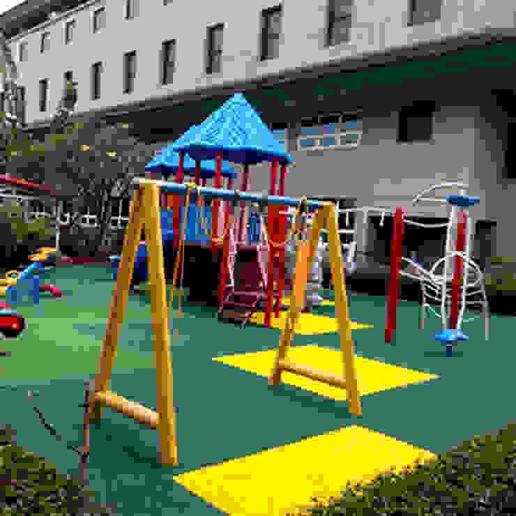 Playground Jakarta Intenational Korea School PT. Datra Internusa Sekolah Modern Multicolored