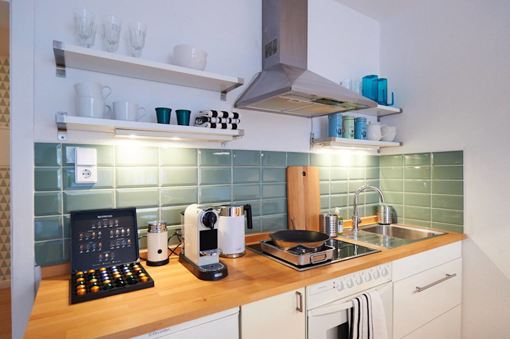 Möbliertes Appartement - Einladen Industriale Esszimmer von Tschangizian Home Staging & Redesign Industrial