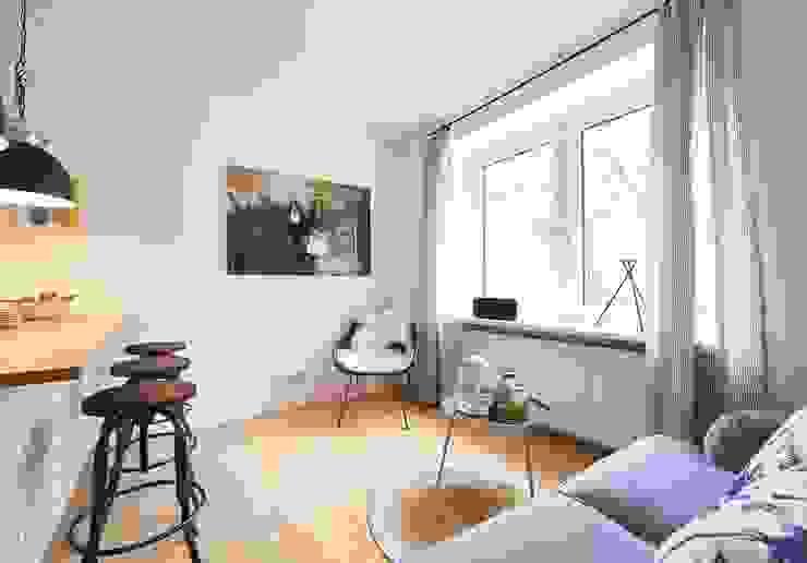 Möbliertes Appartement - Wohnen Moderne Wohnzimmer von Tschangizian Home Staging & Redesign Modern