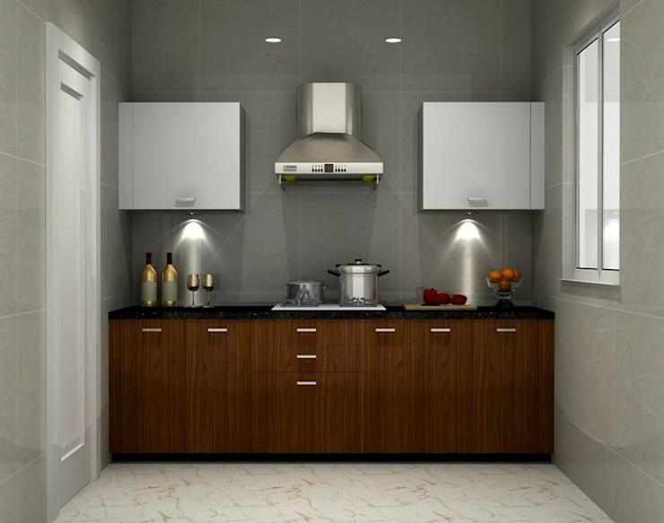 Kitchen by Golden Spiral Productionz (p) ltd, Asian