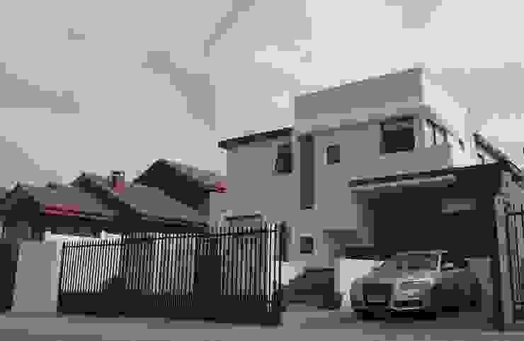 DISEÑO VIVIENDA MAC 220 de Territorio Arquitectura y Construccion - La Serena Moderno
