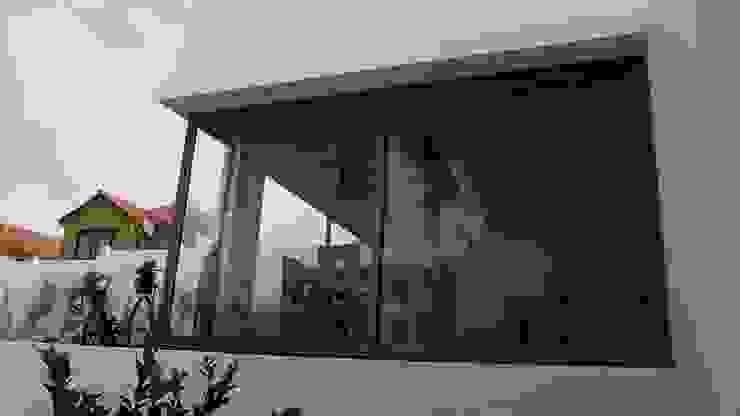 DISEÑO VIVIENDA MAC 220 Puertas y ventanas modernas de Territorio Arquitectura y Construccion - La Serena Moderno