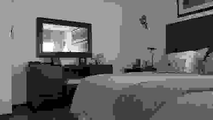 DISEÑO VIVIENDA MAC 220 Dormitorios de estilo moderno de Territorio Arquitectura y Construccion - La Serena Moderno