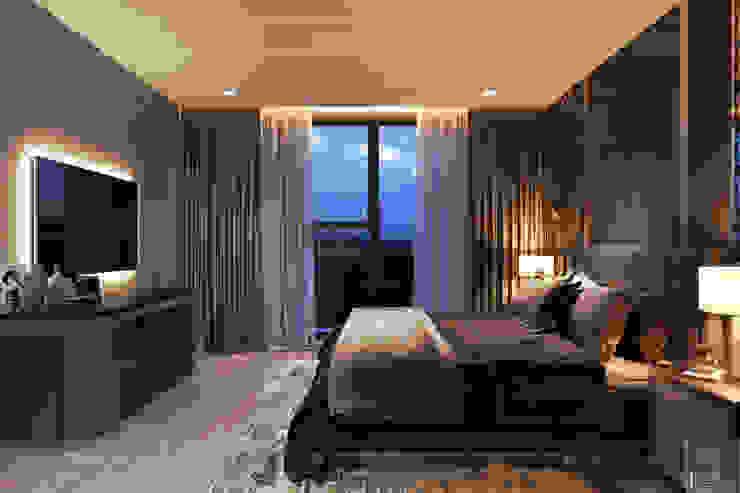 THIẾT KẾ NỘI THẤT CĂN HỘ VINHOMES GOLDEN RIVER – Sang trọng – Đẳng cấp Phòng ngủ phong cách hiện đại bởi ICON INTERIOR Hiện đại