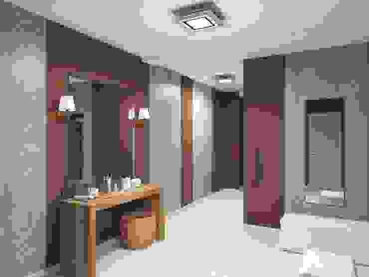 Дом Летчик Испытатель by Anastasia Yakovleva design studio Modern
