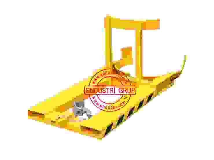 ENDÜSTRİ GRUP-Forklift Varil Taşıma Çevirme dokme bosaltma devirme Ataşmanı aparati ENDÜSTRİ GRUP Endüstriyel