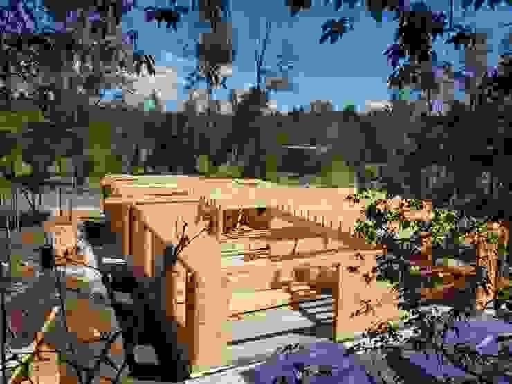 Patagonia Log Homes - Arquitectos - Neuquén Chalés e casas de madeira Madeira Efeito de madeira