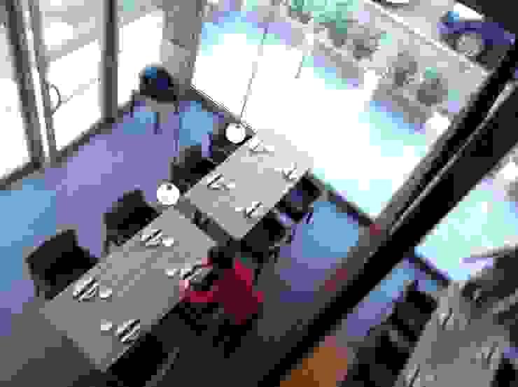 Asian style dining room by ASCARI I FALEGNAMI Asian