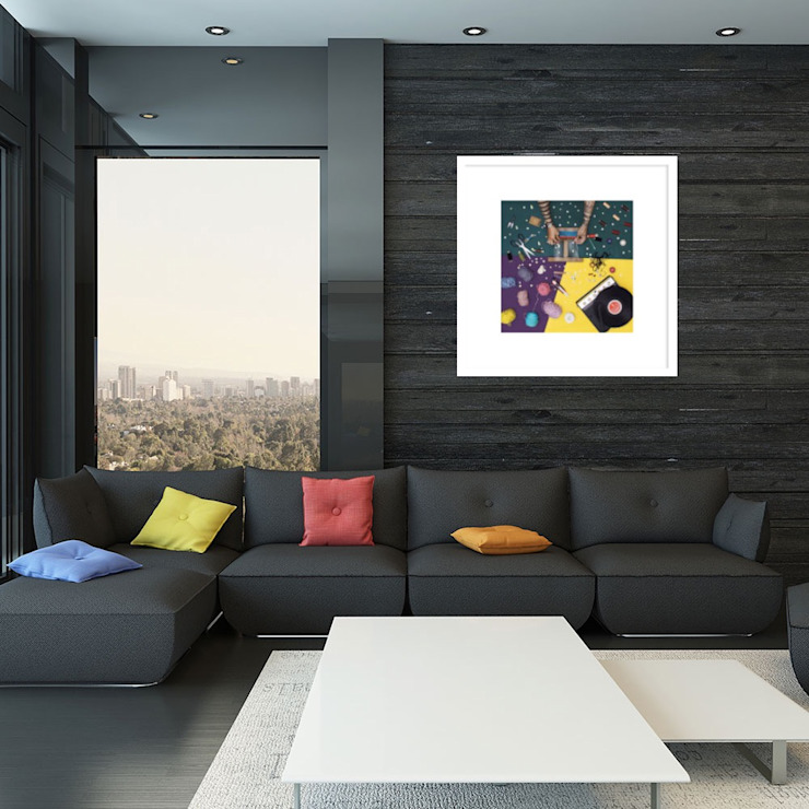 Living room catalogue Ruang Keluarga Modern Oleh SPASIUM Modern
