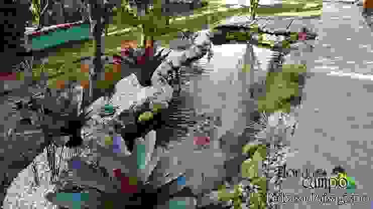 Flor do Campo Pedras e Paisagismo GartenSchwimmbecken und Teiche