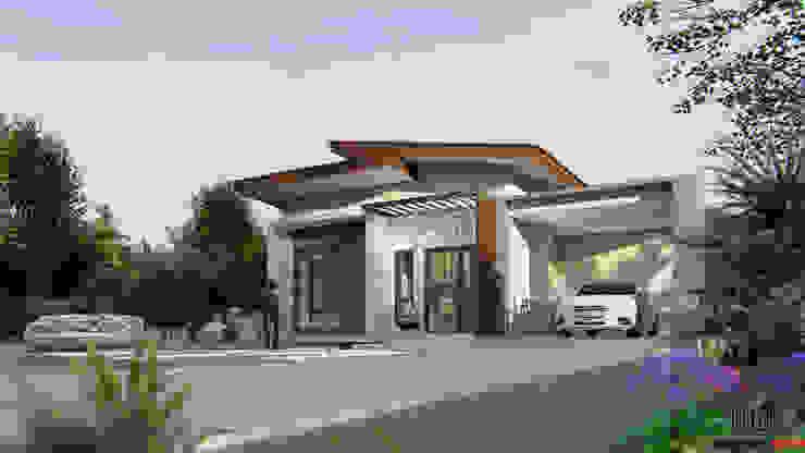 Casas de estilo moderno de Takuapa125 Moderno