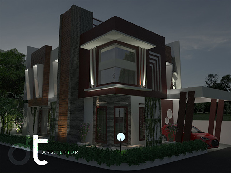 de Rumah Desain Tropis Moderno