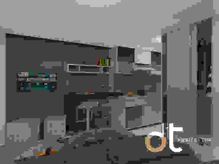 PROJECT APPARTEMEN ICONT BINTARO JAYA TANGERANG SELATAN Kamar Tidur Modern Oleh Rumah Desain Tropis Modern
