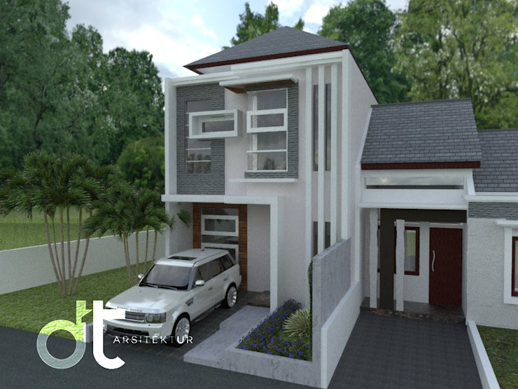 PROJECT CIPUTAT TANGERANG SELATAN Rumah Modern Oleh Rumah Desain Tropis Modern
