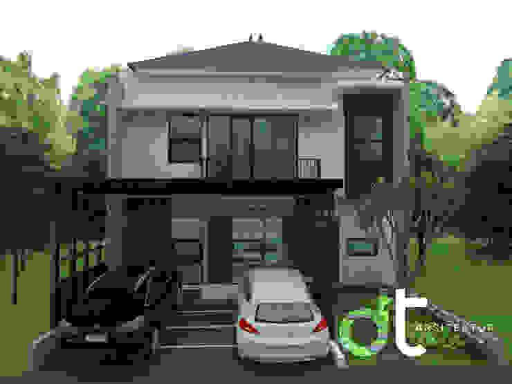 PROJECT CIBINONG KABUPATEN BOGOR Rumah Modern Oleh Rumah Desain Tropis Modern