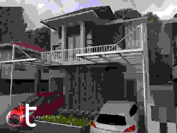 PROJECT CLUSTER VENICE BINTARO JAYA TANGERANG SELATAN Rumah Modern Oleh Rumah Desain Tropis Modern